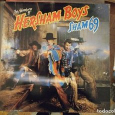 Discos de vinilo: SHAM 69 - THE ADVENTURES OF HERSHAM BOYS - POLD 5025 2442 165 UK PRIMERA EDICION. Lote 147869178