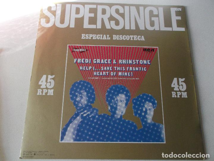 FREDI GRACE & RHINSTONE - HELP SAVE THIS FRANTIC - MAXI SINGLE 1982 - RCA (Música - Discos de Vinilo - Maxi Singles - Disco y Dance)