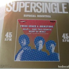 Discos de vinilo: FREDI GRACE & RHINSTONE - HELP SAVE THIS FRANTIC - MAXI SINGLE 1982 - RCA. Lote 147869446