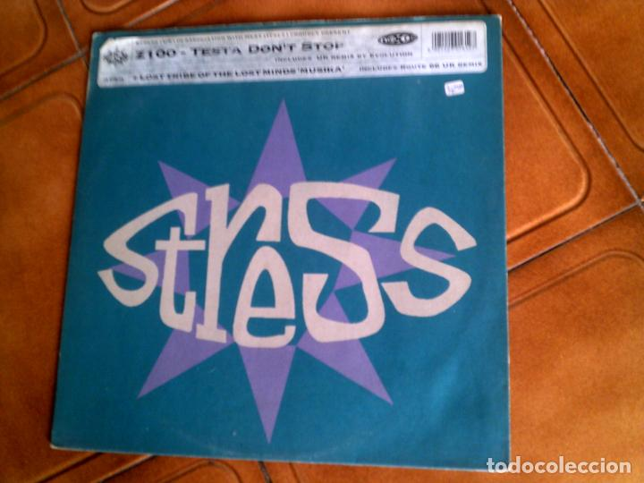 DISCO DE STRESS ,EVOLUTION UK REMIX Y HAMMONDIA MIX 1993 (Música - Discos de Vinilo - Maxi Singles - Techno, Trance y House)