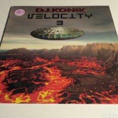 Discos de vinilo: DJ. KONIK - VELOCITY VOL. 3. Lote 147872956
