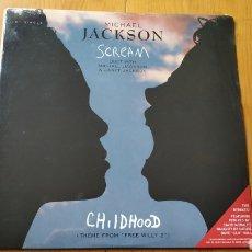 Discos de vinilo: MICHAEL JACKSON SCREAM USA *NUEVO*. Lote 147876230
