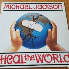 Discos de vinilo: MICHAEL JACKSON MAXI SINGLE HEAL THE WORLD. Lote 147876838