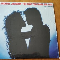 Discos de vinilo: MICHAEL JACKSON CANADA MAXI SINGLE THE WAY YOU MAKE ME FEEL. Lote 147877270