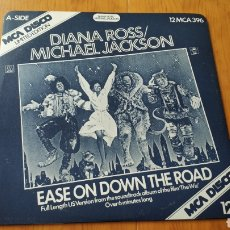 Discos de vinilo: MICHAEL JACKSON DIANA ROSS EASE ON DOWN THE ROAD. Lote 147877489