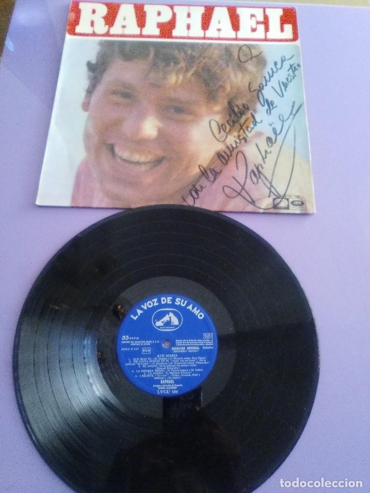 GENIAL LP 1968.RAPHAEL.LP DE LA PELICULA EL GOLFO.LA VOZ DE SU AMO.LVG-U.104.FIRMADO POR EL ARTISTA. (Música - Discos - LP Vinilo - Solistas Españoles de los 50 y 60)