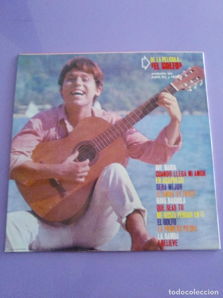Discos de vinilo: GENIAL LP 1968.RAPHAEL.LP DE LA PELICULA EL GOLFO.LA VOZ DE SU AMO.LVG-U.104.FIRMADO POR EL ARTISTA. - Foto 3 - 147882302