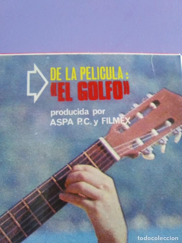 Discos de vinilo: GENIAL LP 1968.RAPHAEL.LP DE LA PELICULA EL GOLFO.LA VOZ DE SU AMO.LVG-U.104.FIRMADO POR EL ARTISTA. - Foto 4 - 147882302