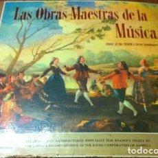 Discos de vinilo: VINILOS LAS OBRAS MAESTRAS DE LA MÚSICA. Lote 147882506