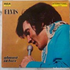 Discos de vinilo: ELVIS PRESLEY, ALMOST IN LOVE. LP ALEMANIA AÑOS 70. Lote 147884186