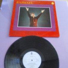 Discos de vinilo: RAPHAEL, AL PONERSE EL SOL - LP MADE IN ENGLAND, HISPAVOX MONO HXL 109.A. AÑO 1967.. Lote 147888658