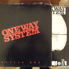 Discos de vinilo: ONE WAY SYSTEM - GUTTER BOX 3 LP - GT 21 GET BACK PERFECTO. Lote 147889934
