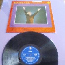 Discos de vinilo: RAPHAEL, AL PONERSE EL SOL - LP SPAIN, HISPAVOX HH 11 - 125. AÑO 1967. Lote 147890434