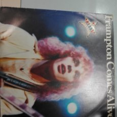 Discos de vinilo: FRAMPTON COMES ALIVE! A&M RECORDS 1976 DOBLE DISCO #. Lote 175398240