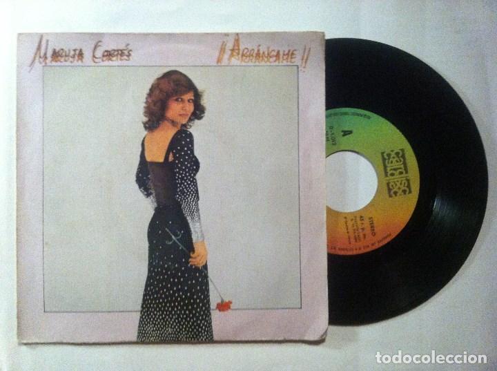 MARUJA CORTES ARRANCAME / NO QUIERO SENTIR TU AMOR - SINGLE 1980 - CARDISC (Música - Discos - Singles Vinilo - Grupos y Solistas de latinoamérica)