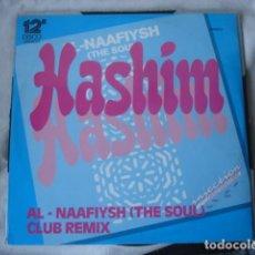Discos de vinilo: HASHIM AL-NAAFIYSH (THE SOUL) (1990 REMIX) . Lote 147898626