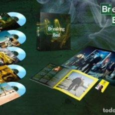 """Discos de vinilo: BREAKING BAD - BANDA SONORA ORIGINAL EDICIÓN LIMITADA 5X10"""" 180G LPS BOX SET VINILO COLOR PRECINTADO. Lote 147908234"""