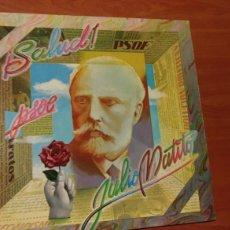 Discos de vinilo: PSOE ¡SALUD! LP JULIO MATITO 1976.. Lote 147909297