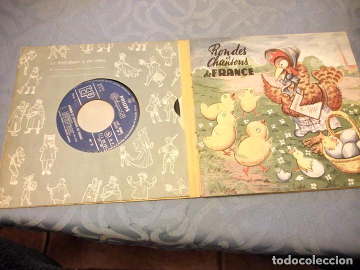 Discos de vinilo: RONDES ET CHANSONS DE FRANCE Nº 2 - VERNAY (PHILIPS LIVRE-DISQUE, 1955). LIBRETO 12 PÁG. - Foto 2 - 147912506