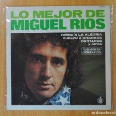 Discos de vinilo: MIGUEL RIOS - LO MEJOR DE MIGUEL RIOS - LP. Lote 147915376