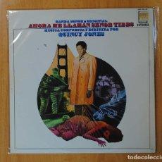 Discos de vinilo: QUINCY JONES - AHORA ME LLAMAN SEÑOR TIBBS - BSO - LP. Lote 147924356