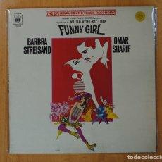Discos de vinilo: BARBRA STREISAND / OMAR SHARIF - FUNNY GIRLS - BSO - LP. Lote 147924398