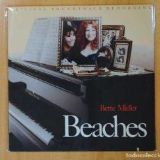 Discos de vinilo: BETTE MIDLER - BEACHES - BSO - LP. Lote 147924460