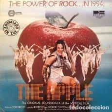 Discos de vinilo: THE APPLE - BANDA SONORA ORIGINAL DE LA PELICULA (THE ORIGINAL SOUNDTRACK OF THE MUSI (ESPAÑA, 1980). Lote 147931450