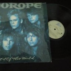 Discos de vinilo: EUROPE - OUT OF THIS WORLD - DE CBS - 1988 - BUEN ESTADO . Lote 147931714