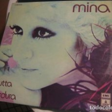 Disques de vinyle: MINA - FRUTTA E VERDURA *** RARO LP ESPAÑOL 1971 GRAN ESTADO. Lote 147935354