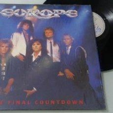 Discos de vinilo: EUROPE - THE FINAL COUNTDOWN ...LP DE CBS ORIGINAL DE 1986 BUEN ESTADO. Lote 147939478