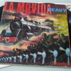 Discos de vinilo: LA MOVIDA HEAVY - COMPILATION ..2 LP´S ... JUDAS PRIEST , OZZY ,SAXON , JOE PERRY , CHEAP TRICK...ET. Lote 147939958