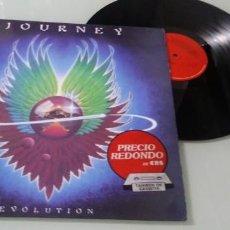 Discos de vinilo: JOURNEY - EVOLUTION .. LP DE EDICION - 1979 - REEDICION 10 ANIVERSARIO 1989 - CBS. Lote 147940330