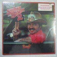 Discos de vinilo: BSO SMOKEY AND THE BANDIT 2 - LOS CARADURAS 2 - LP PRECINTADO 1980 USA . Lote 147942062