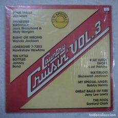Discos de vinilo: COUNTRY, CRUISIN' VOL. 3 - LP 1982 CANADÁ . Lote 147942334
