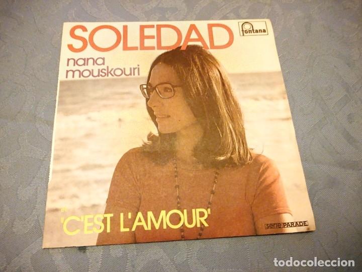 NANA MOUSKOURI ?– SOLEDAD, 1974 (Música - Discos - Singles Vinilo - Canción Francesa e Italiana)