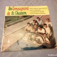 Discos de vinilo: LES COMPAGNONS DE LA CHANSON - BRAS DESSUS, BRAS DESSOUS - IMPORT - 7 RECORD. Lote 147960978