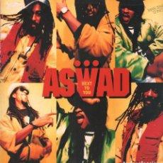 Discos de vinilo: ASWAD ( NEXT TO YOU 2 VERSIONES ) LP MAXISINGLE ISLAND RECORDS DE 1990 RF-7233. Lote 147961978