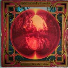 Discos de vinilo: HÉROES DEL SILENCIO - EL ESPÍRITU DEL VINO - EMI - 190 7895581 - 1993 - PRIMERA EDICIÓN - ESPAÑA. Lote 147543578