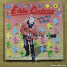 Discos de vinilo: EDDIE COCHRAN - THREE STEPS TO HEAVEN - BOX 3 LP. Lote 160810504
