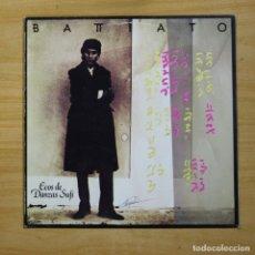 Discos de vinilo: FRANCO BATTIATO - ECOS DE DANZAS SUFI - LP. Lote 147967874