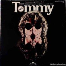 Discos de vinilo: TOMMY. THE MOVIE. THE WHO. CLAPTON. TINA TURNER.ELTON JOHN... BANDA SONORA. DOBLE LP ESPAÑA. Lote 147967886