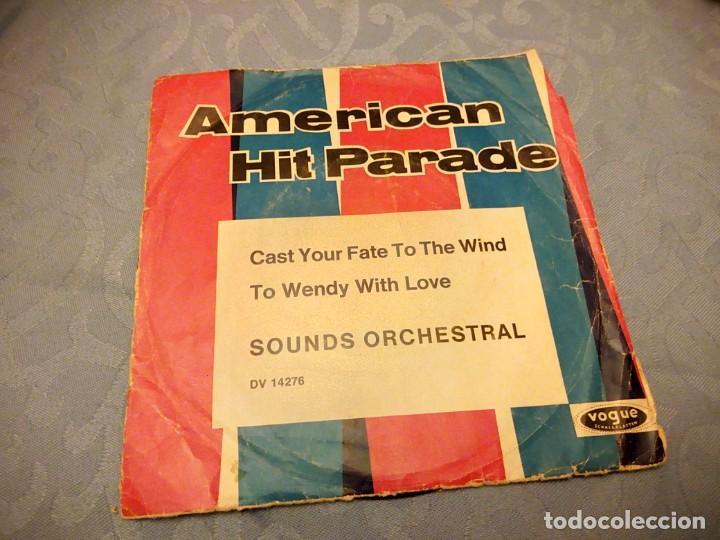 AMERICAN HIT PARADE - DISCOGRAFICA VOGUE- REEDITADO EN ALEMANIA (Música - Discos de Vinilo - Singles - Pop - Rock Extranjero de los 80)
