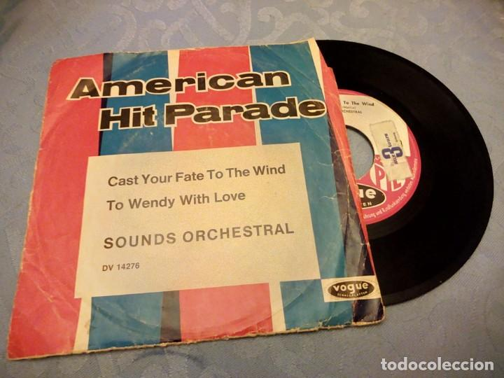Discos de vinilo: AMERICAN HIT PARADE - discografica Vogue- Reeditado en Alemania - Foto 2 - 147968950
