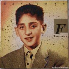 Discos de vinilo: BATTIATO. FISIOGNOMICA. LP ESPAÑA PORTADA ABIERTA.. Lote 147969142
