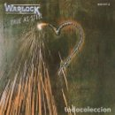 Discos de vinilo: WARLOCK – TRUE AS STEEL - LP VINYL 1987 SPAIN ED. - ( DORO, ACCEPT, DIO, MAIDEN, KISS). Lote 147973566