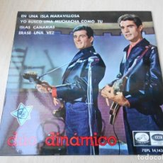 Discos de vinilo: DUO DINAMICO, EP, ISLAS CANARIAS + 3, AÑO 1965. Lote 147973998