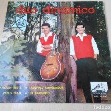 Discos de vinilo: DUO DINAMICO, EP, CANCIÓN TRISTE + 3, AÑO 1963. Lote 147976090