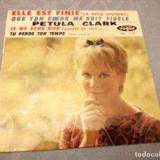 Discos de vinilo: EP 45 RPM / PETULA CLARK ( BEATLES ) TU PERDS TON TEMPS -PLEASE PLEASE ME // EDITADO VOGUE. Lote 147980894