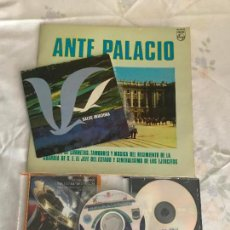 Discos de vinilo: MAGNIFICO LOTE DE MUSICA MILITAR. Lote 147983310